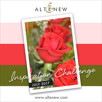 Altenew July 2017 Inspiration Challenge