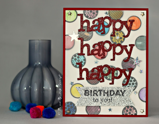 Post#204 - Me And My Daily Papercraft Blog - Handmade Card by PriCreated