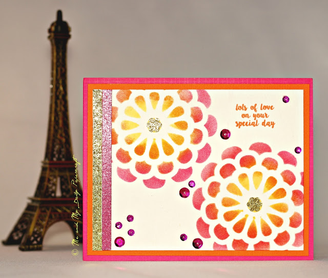Post#207 - Me And My Daily Papercraft Blog - Handmade Card by PriCreated